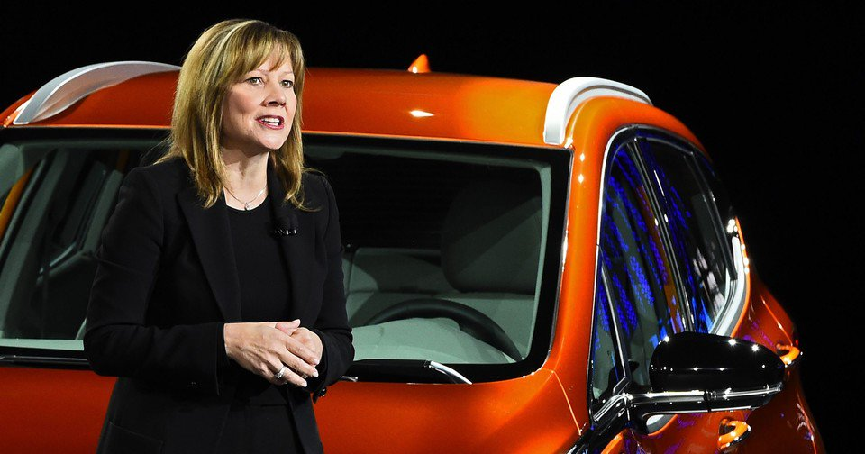 Mary Barra, General Motors: è lei la top mondo