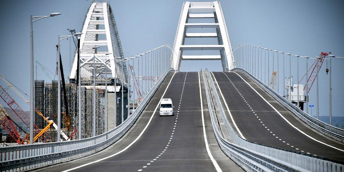 Krymskij most, il ponte di Crimea sul mare di Azov